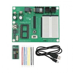Parallax - Basic Stamp2 Board of Education Full Kit - USB Version