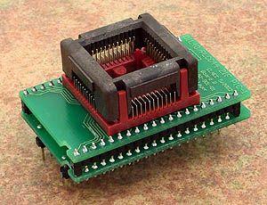 DIL40/PLCC44 ZIF PIC-1 Adaptör Soketi