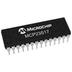 MICROCHIP - MCP23S17-E/SP