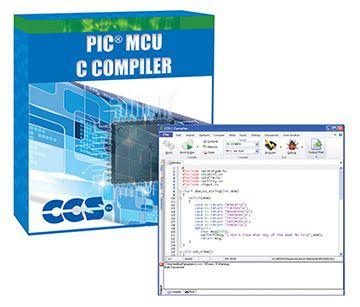 Microchip PIC10/12/16 Entegreleri için PCW IDE Derleyici