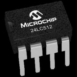 MICROCHIP - 24LC512-I/P