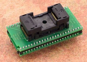 DIL48/TSOP56 ZIF 18.4mm Flash-9 Adaptör Soketi