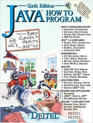 - Java How to Program (6th Edition)