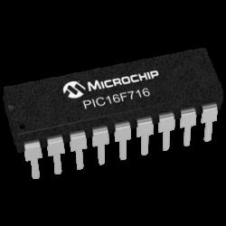 MICROCHIP - PIC16F716-E/P