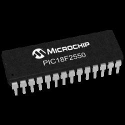 MICROCHIP - PIC18F2550-I/SP