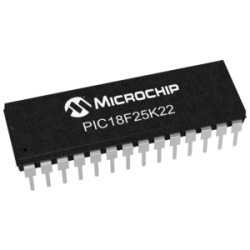 MICROCHIP - PIC18F25K22 -I/SP