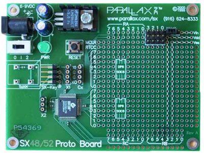 Sx48 Proto Board 48 Pin