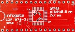 Infogate - TQFP-32 > DIP-32 çevirici soket