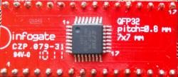 TQFP-32 > DIP-32 çevirici soket - Thumbnail